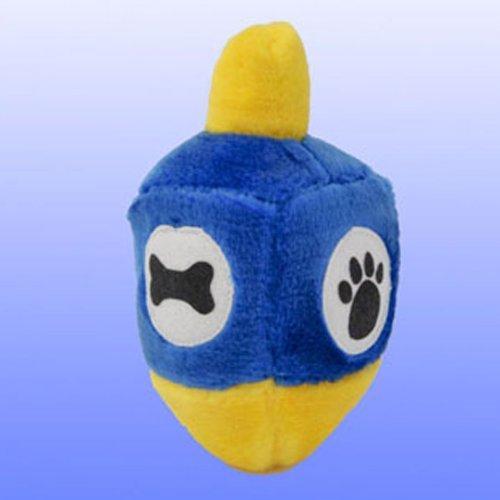 copa Plush Dreidel Hanukkah Draydel Chewish Squeak Treat Animal Pet Toy