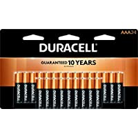 24-Pack Duracell CopperTop AAA Alkaline Batteries