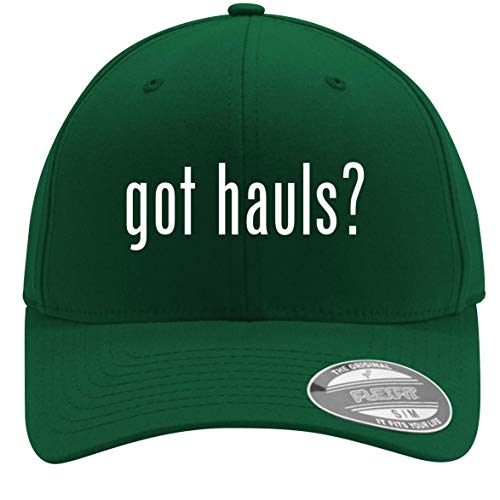 got Hauls? - Adult Men's Flexfit Baseball Hat Cap, Forest, Large/X-Large