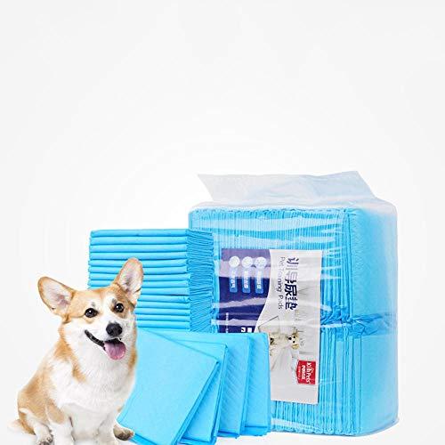 dorit Pañales para Perros, Alfombrilla higiénica de Entrenamiento para Perros, Empapadores Toallitas Pañales Almohadillas de Entrenamiento para Mascotas Absorbente-XL
