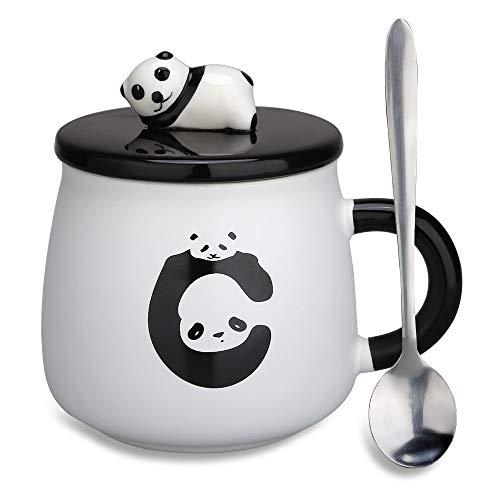 Tazza in ceramica, con Panda 3D, per compleanni, regalo...
