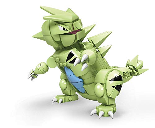 Mega Construx Pokemon Tyranitar Figure Building Set with Battle Action
