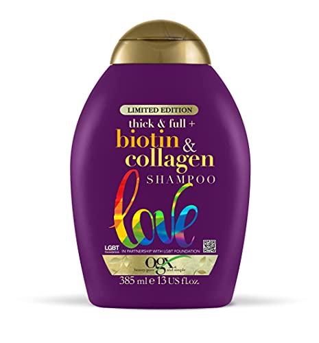 OGX Biotin & Collagen Hair Thickening Shampoo, 385ml