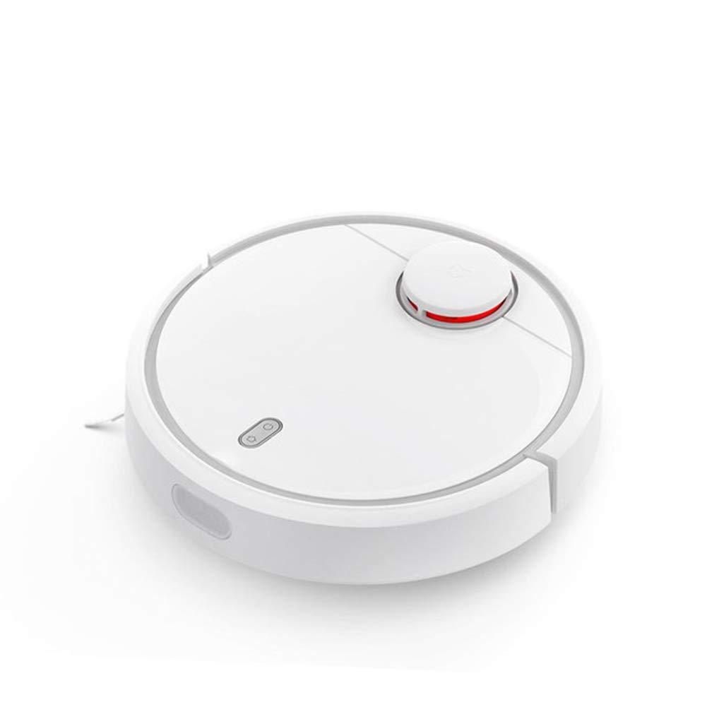 Robot Aspirador Control de Aplicaciones WIFI Carga Automática Mapeo de Escaneo LDS Trabajo de Bajo Ruido Adecuado para Pisos Duros, Azulejos,Blanco: Amazon.es: Hogar