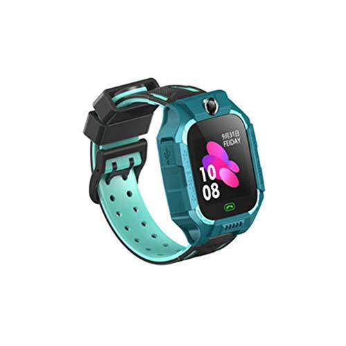 Smart Watch Kids LBS Positioning Lacation SOS Camera Phone Smart Baby Watch Bate-papo de voz Smartwatch infantil relógio (azul)