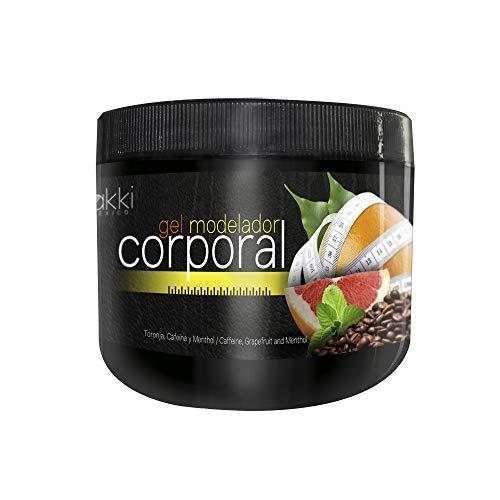 Gel Modelador Corporal, Gel Reductor, anti estrias, tensor. Activa el metabolismo celular ejerciendo una eliminación de la grasa por medio del drenaje linfático. Combinación de toronja, mentol, alcanfor y cafeína