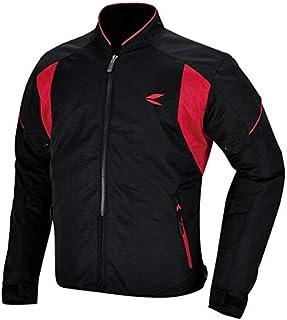 RSタイチ(アールエスタイチ)バイクジャケット ブラック/レッド (サイズ:XL) クルーメッシュジャケット RSJ317
