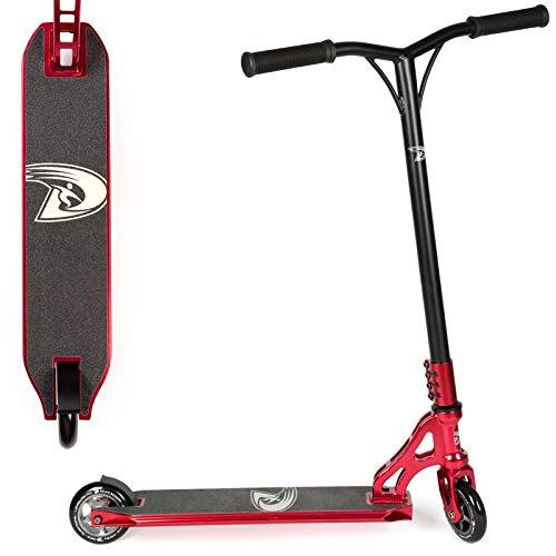 Land Surfer PRO Stunt Scooter. Stunt Tretroller mit 360° Spin-Deck