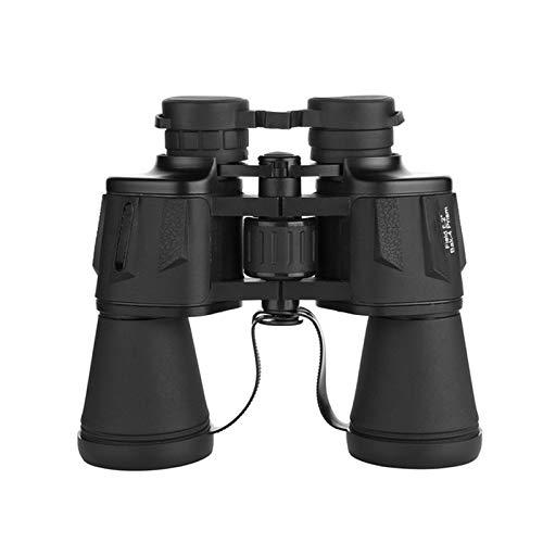 IOIOA 20X50 HD Binocular, Haute Puissance BAK-4 Optique LLL Night Vision Telescope pour l'extérieur Chasse Tourisme