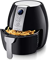 Ultrean Air Fryer, 4.2 Quart (4 Liter) Electric Hot Air Fryers Oven Oilless Cooker with LCD Digital Screen and Nonstick...