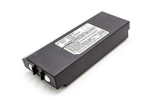 vhbw NiMH Akku 2000mAh (7.2V) passend für Kran Fernbedienung Remote Control HIAB AMH0627, AX-HI6692, XS Drive, XS Drive H3786692, XS Drive H3796692