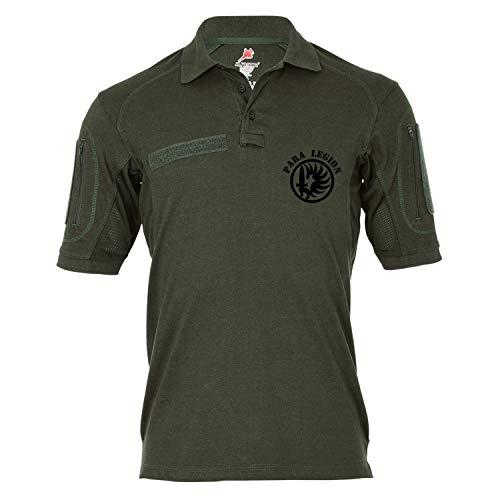 Copytec Copytec Tactical Poloshirt Alfa - para Legion Fremdenlegion Etrangere #19337, Größe:S, Farbe:Oliv