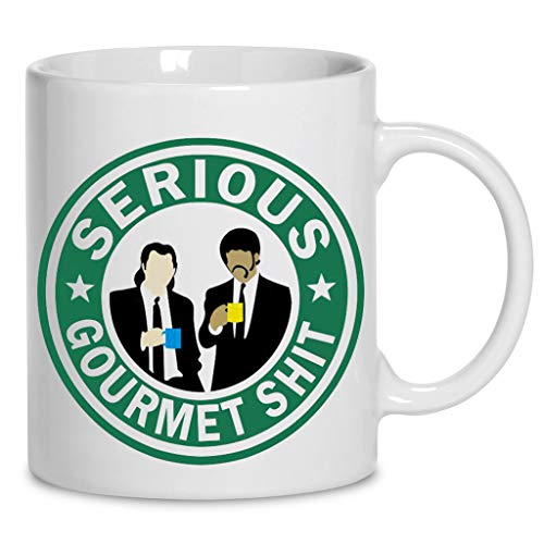 Vincent Vega And Jules Winnfield Serious Gourmet Shit Ceramic Coffee Mug 11oz & 15oz Tea Cups