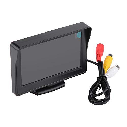 4. Kit de Cámara de Respaldo de Visión Trasera Inversa de Espejo 7Led de Monitor LCD de Coche Inalámbrico de 3 Pulgadas