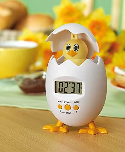 Küchenwecker Küken lustige Eieruhr digitaler Küchentimer