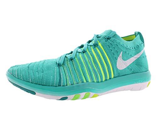 Nike Damen 833410-301 Fitnessschuhe, Blau, Weiß, Grün (Clear Jade/White/Rio Teal/Voltage Green), 38 EU