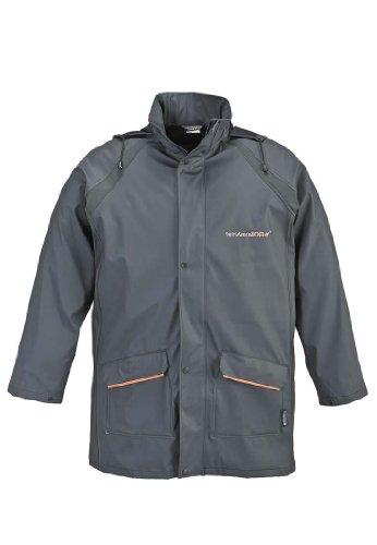 Terratrend 9400-S-6251 Regenjacke, Größe S, Grau/Orange, mehrfarbig, 9400-S-6251