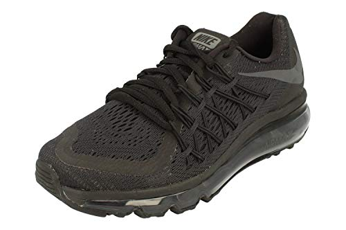 Nike Air MAX 2015 BG Running Trainers CD9584 Sneakers Zapatos (UK 5.5 us 6Y EU 38.5, Black Anthracite Black 001)