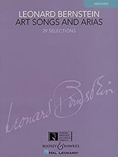 Art Songs and Arias: 29 Selections