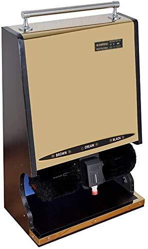 YWAWJ Máquina de Limpieza de Zapatos automático, máquina de inducción automática, Multi-función de la máquina de Limpieza de Zapatos de Cuero (Color : A)