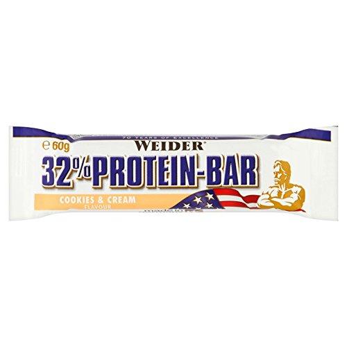 Weider 32% Protein Bars - 24 x 60gr Coconut