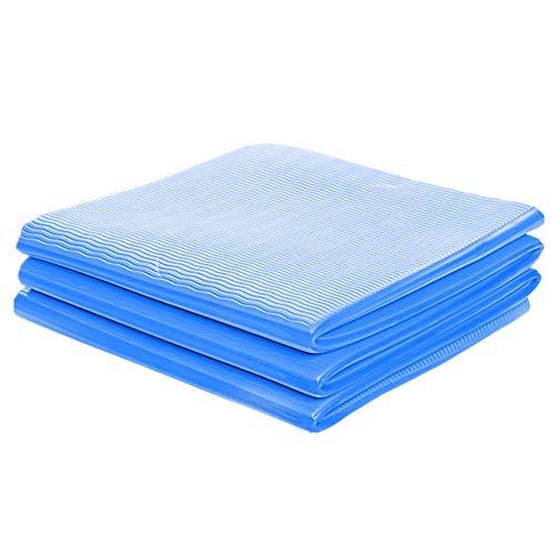 Esterilla para Yoga Yoga Mat Estera de Ejercicio Extra Gruesa Esteras de Ejercicio Gruesas para Gimnasio en casa Gimnasio Mate para el hogar blue660c,0.6cm