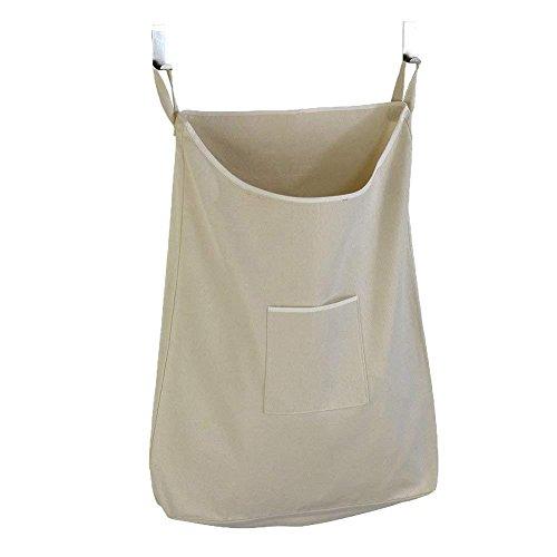 Organizer Dirty Clothes Bag voor aan de deur hangende tas Oxford doek kaki