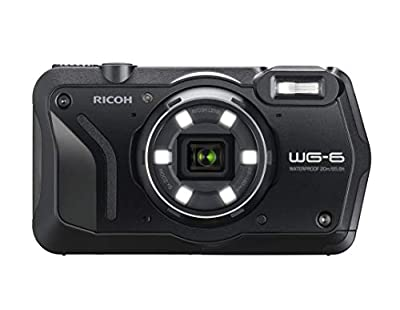 WG-6 20MP Underwater Digital Camera USA Model from RICOH