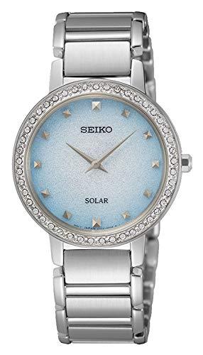 Seiko Reloj Analógico para Mujer de Cuarzo con Correa en Metal SUP447P1