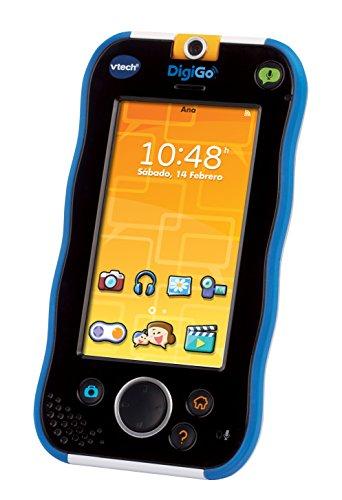 VTech - DigiGo, Tablet Educativo para niños, Color Azul (3480-168822) [versión española actualizada]
