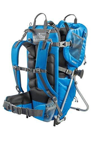 Zaino Trekking Porta Bambino Wombat Colore Blu Marchio FERRINO Ideale per Bimbi Fino A 20KG