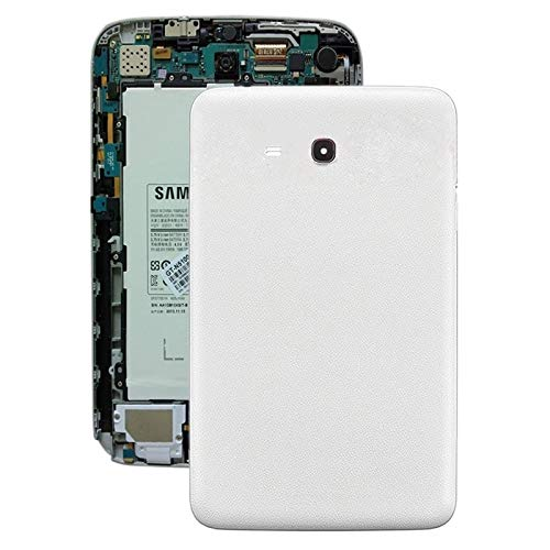 YPshell Battery Back Cover for For Galaxy Tab 3 V T110 (White) Repair back cover (Color : White)