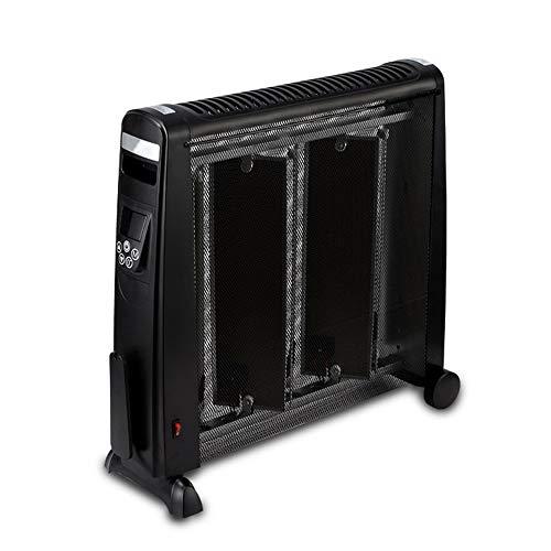 Calefacción MAHZONG Inverter Calefactor Inicio Cristal de Carbono Infrarrojo Impermeable y Ahorro de energía-2200W