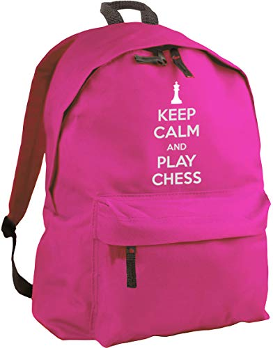 HippoWarehouse Keep Calm and Play Chess Backpack ruck Sack Dimensions: 31 x 42 x 21 cm Capacity: 18 litres