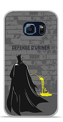 Onozo Carcasa TPU Gel Flexible Samsung Galaxy S6 Edge Design Batman