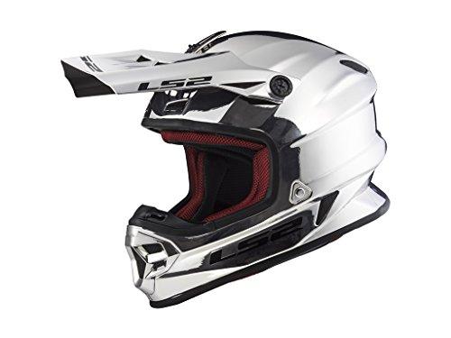 LS 2 Helm LS2 MX456 HPFC Single Mono Gloss Chrome, XS