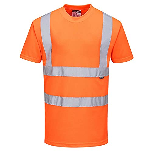 Portwest, hochsichtbares T-Shirt, Orange, Größe L, RT23ORRL