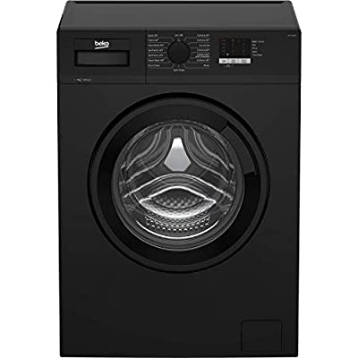 Beko WTL74051B 7kg 1400rpm Freestanding Washing Machine - Black