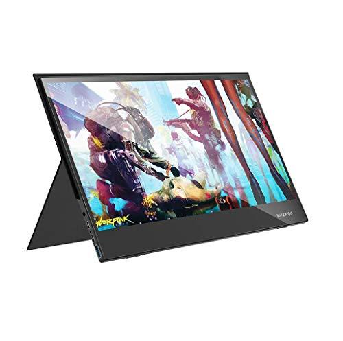 Blitzwolf BW-PCM6 17,3 Zoll Touch Monitor FHD 1080P Typ C Portable Gaming Display Computer Bildschirm für Smartphone Tablet Laptop Spielkonsolen