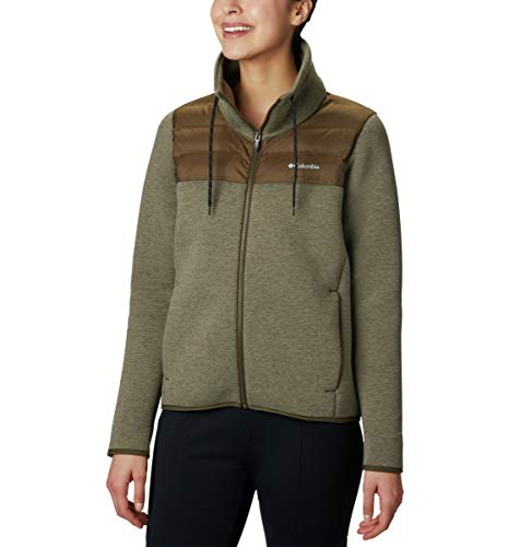Columbia Women's Northern Comfort Hybrid Jacket, Olive Green, Small