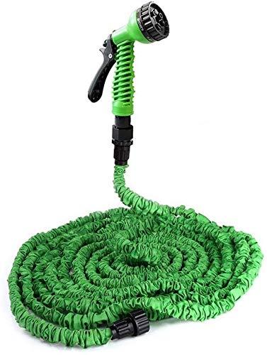 mangueras extensibles jardin Ampliable Manguera de jardín, 25 pies-100 pies mejorada Extra Strength n-Link, durable, ligero flexible de agua en expansión manguera del pulverizador con la fuerza adicio