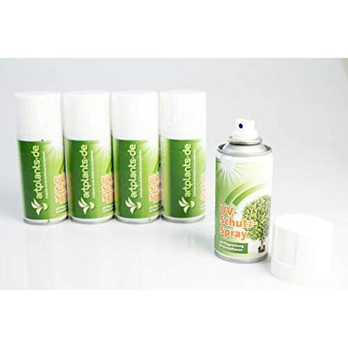 artplants.de UV Schutz Spray, 150ml Dose, Pflegewirkung für künstliche Pflanzen und Blumen, Kunstbäume und Kunstpalmen - für Außen und Innenbereich - 5