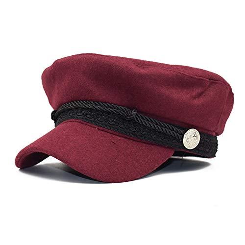 LUOXUEFEI Gorras Sombrero De Algodón Sombreros De Otoño para Mujer Gorras Planas Gorra De Viaje para Mujer