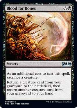 Magic: The Gathering - Blood for Bones - Core Set 2020