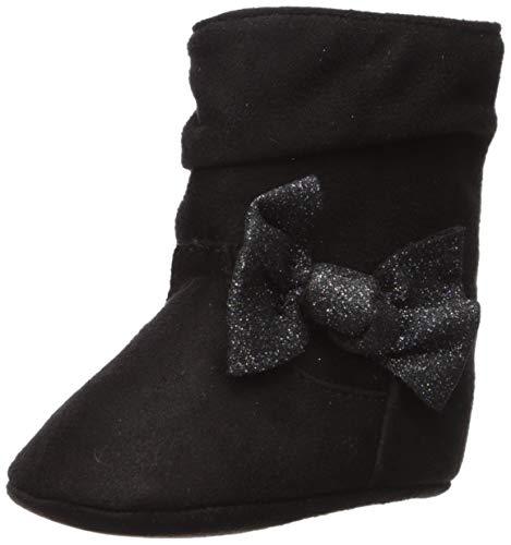 Baby Deer Baby-Girl's 02-4968 Fashion Boot, Black, 3 Regular US Infant