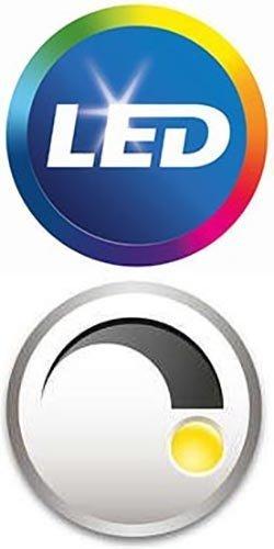 Philips LED Dimmable F15 Soft White Light Bulb with Warm Glow Effect 500-Lumen, 2700-2200-Kelvin, 7-Watt (60-Watt Equivalent), E26 Base, Clear, 4-Pack