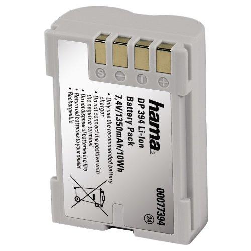 Hama 00077394 batería para cámara/grabadora Ión de litio 1350 mAh - Baterías...