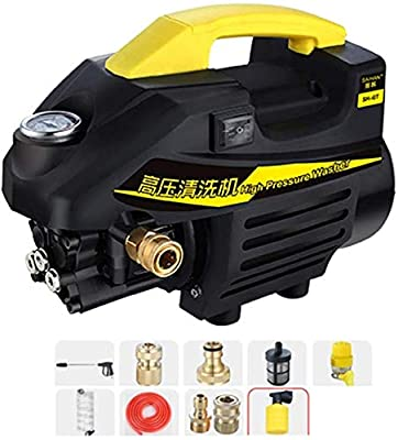 Electric Portable Pressure Washer With Accessories, For Home Garden Driveways dljyy by Dljxx