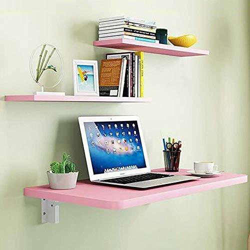 Mesa montada en la pared Mesa de hojas de gota de pared plegable, estante de acero laminado en frío Banco de mesa de fondo, montaje en pared pesado Mesa de montaje en pared y mesa de comedor Escritori