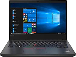 Lenovo ThinkPad E14 Intel Core i7 10th Gen 14-inch Full HD Thin and Light Laptop (8GB RAM/ 1TB HDD + 128GB SSD/Windows 10 Home/Microsoft Office Home & Student 2019/ Black/ 1.77 kg), 20RAS14300,Lenovo,20RAS14300